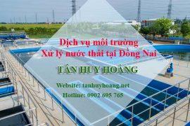 Xử lý nước thải tại Đồng Nai