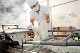 Hệ thống xử lý nước thải sản xuất bún hiệu quả