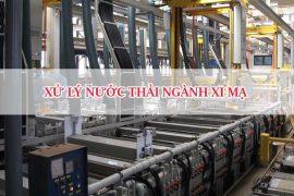 Xử lý nước thải ngành xi mạ đạt chuẩn QCVN