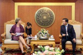 Tăng cường hợp tác bảo vệ môi trường Việt Nam – UNICEF
