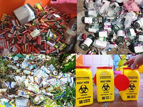 Phân loại chất thải nguy hại trong Đăng ký sổ chủ nguồn thải chất thải nguy hại (SCNT CTNH)