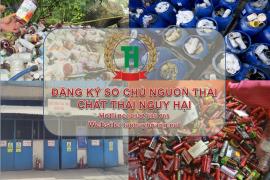 Sổ chủ nguồn thải chất thải nguy hại – Đăng ký tại Đồng Nai