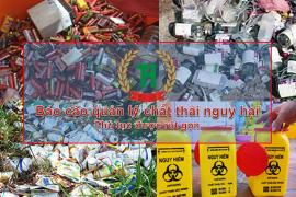 Báo cáo quản lý chất thải nguy hại tại Đồng Nai